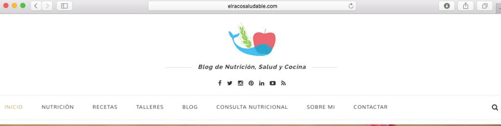 menu de navegacion elracosaludable.com