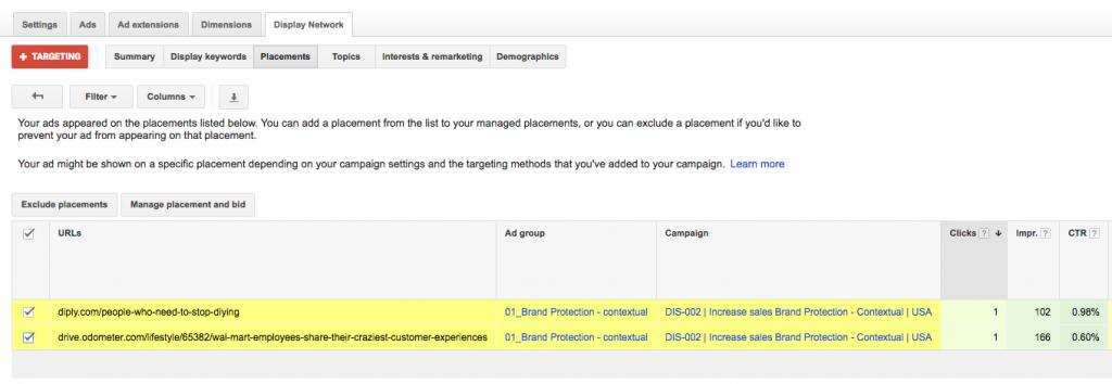 detalle pagina web especifica segmentacion contextual contenido - Magnetica Advertising