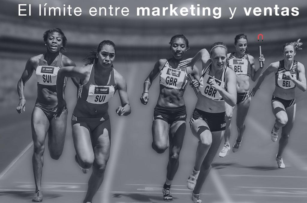 El limite entre marketing y ventas