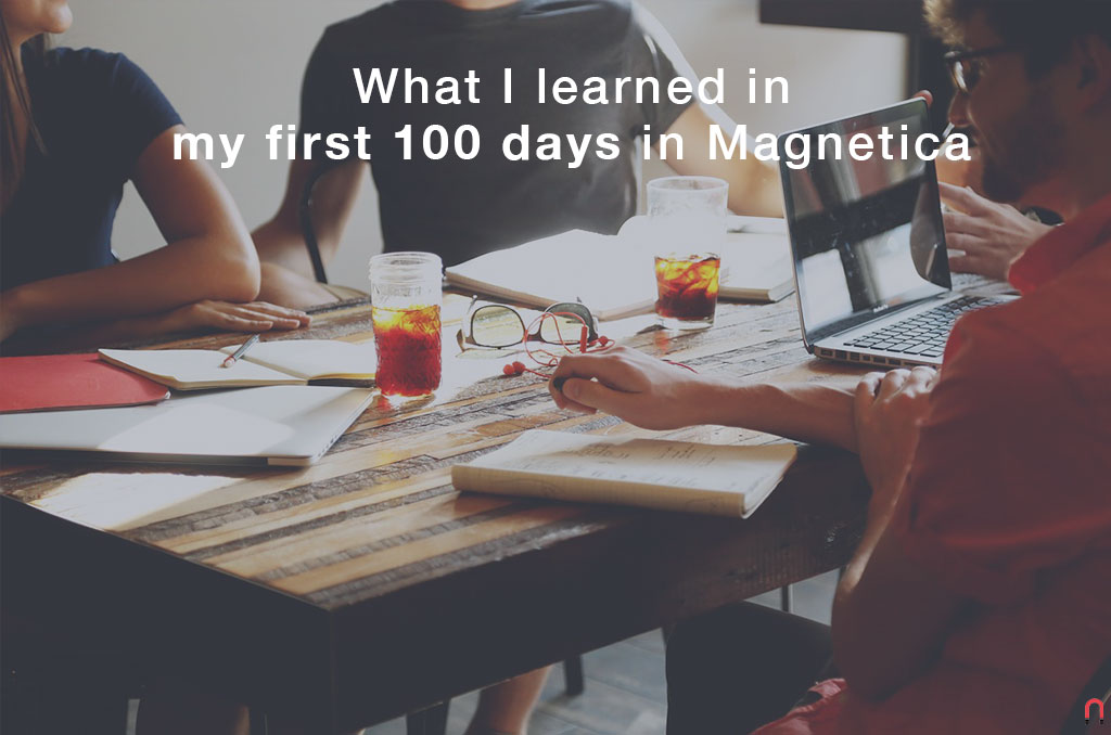 What I learned in my first 100 days in Magnetica Advertising