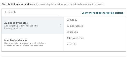 Building Audience - Linkedin