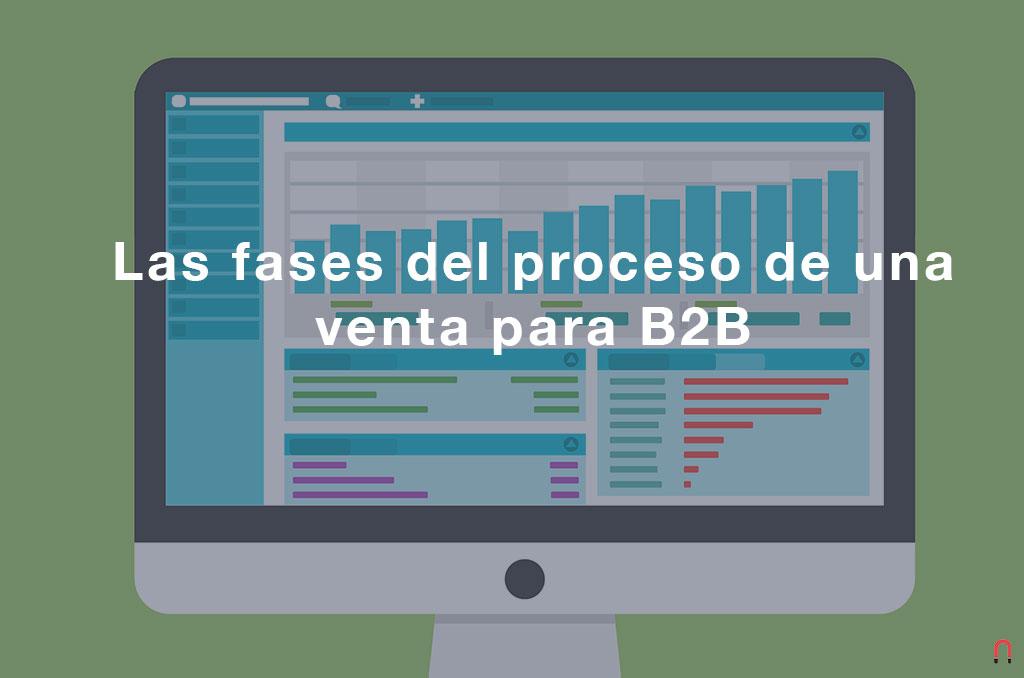 Las fases del proceso de una venta para B2B