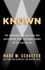 libro Known de Mark W. Schaefer