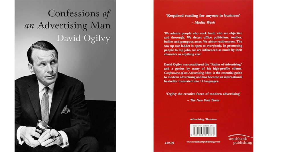 Confessions Of An Advertising Man de David Ogilvy