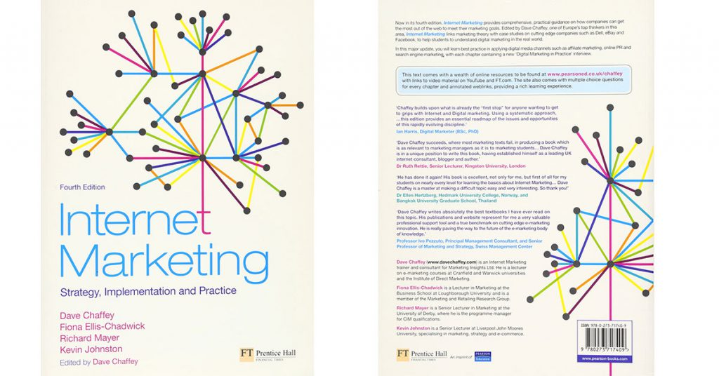 Internet Marketing. Strategy, Implementation and Practice cover book