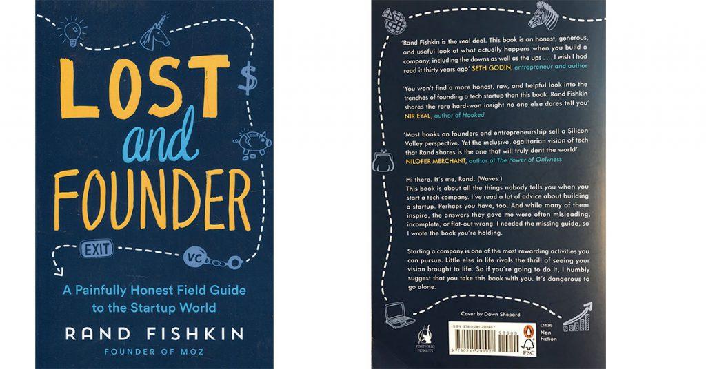 Lost and Founder de Rand Fishkin cover book