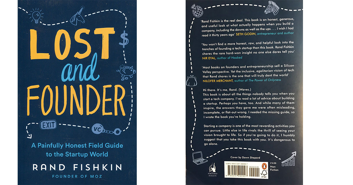 Lost and Founder de Rand Fishkin cover book