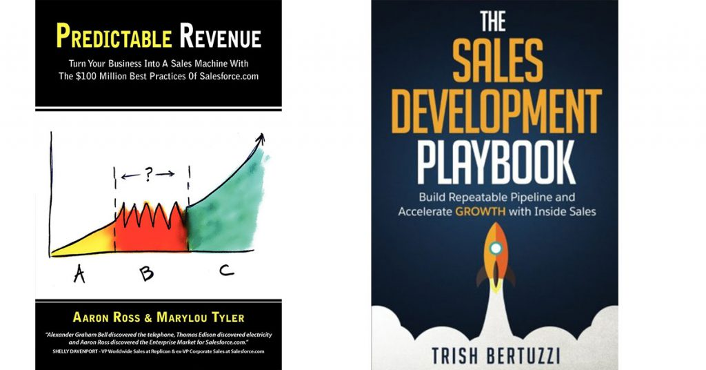 Predictable Revenue and The Sales Development Playbook books