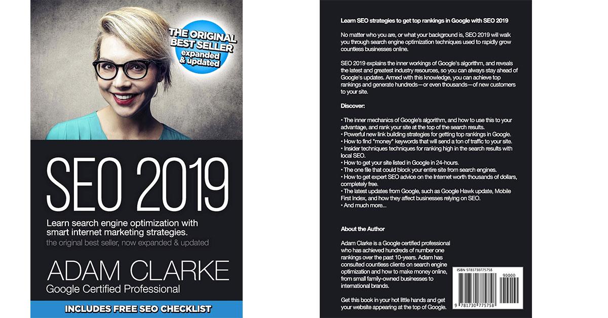 SEO 2019 de Adam Clarke