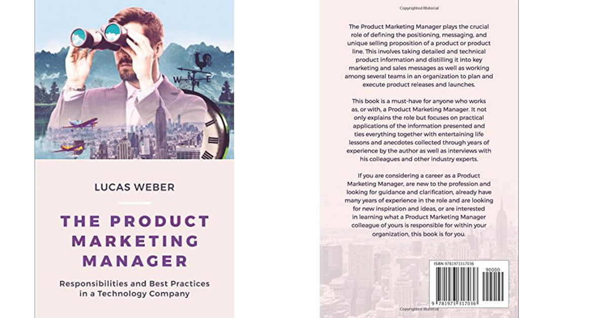 The Product Marketing Manager de Lucas Weber