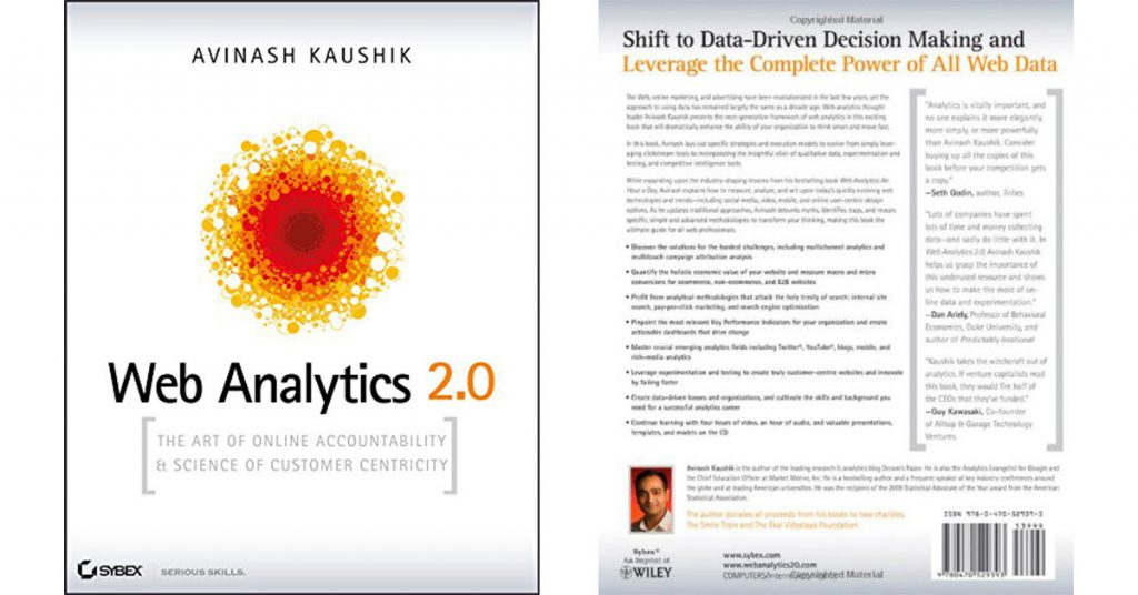 Web Analytics 2.0. The Art of Online Accountability and Science of Customer Centricity - cover book