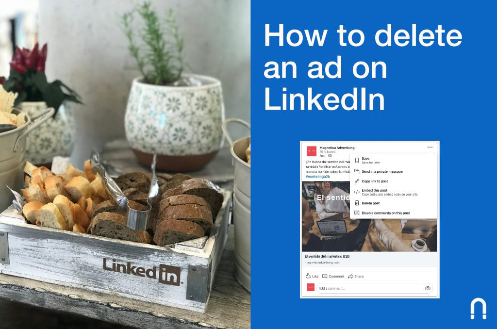 How to delete an ad on LinkedIn