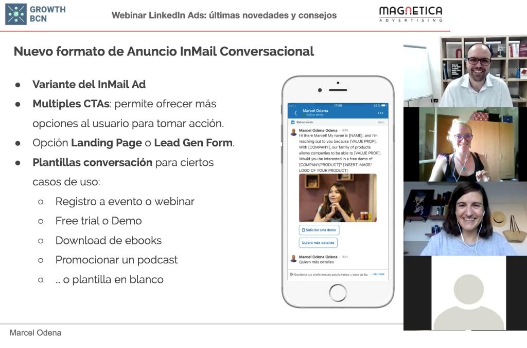 Webinar LinkedIn Ads últimas novedades mayo 2020 y consejos para tu estrategia de campañas en linkedin