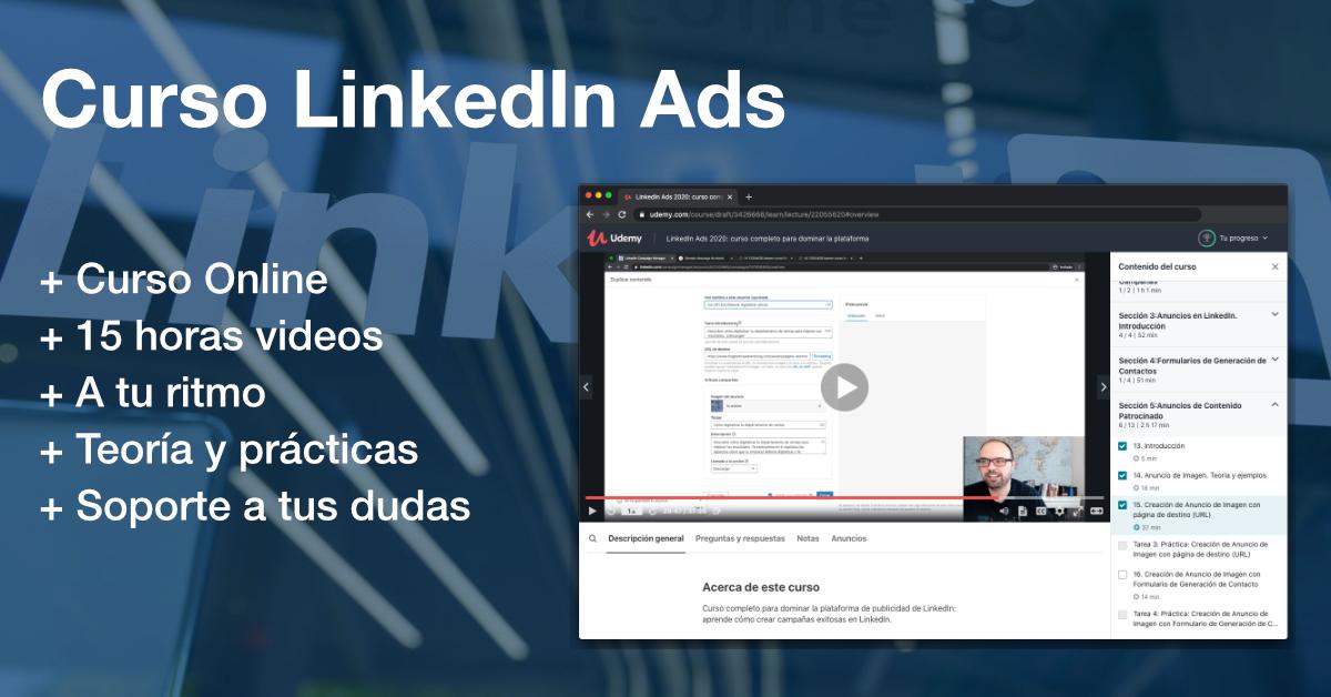Curso LinkedIn Ads por Marcel Odena