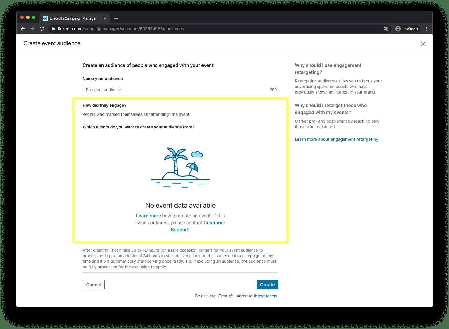Event-based Retargeting on LinkedIn