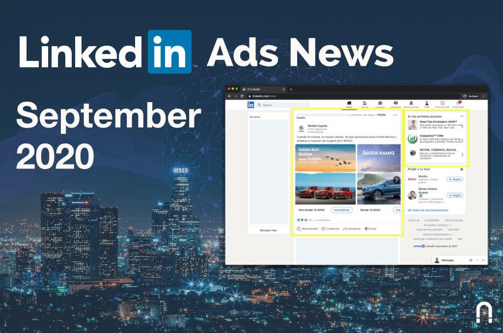 linkedin ads news september 2020